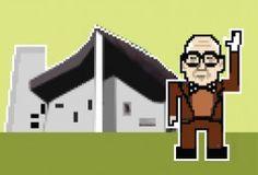 Arquitectos en 8 bits - La morsa era yo. Federico Babina es un artista gráfico además de arquitecto con estudio en Barcelona. Y precisamente por su faceta gráfica he llegado a saber de él. Su web es de ésas en las que te puedes pasar tiempo y tiempo hasta que has repasado todas sus colecciones.