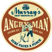 Murray's 'Angry Man' Brown Ale. The brand has since been redistributed to Murray's Pale Ale, but the Angry Man Brown with its hops and malt is still a classic IMHO. Murrays is based in Vic, Australia.