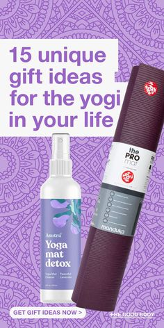 "Whether they're a fanatic or just a beginner we have lots of great gifts for yoga lovers that will make them say ""namaste"".  Take a look at the best gifts for yoga lovers!"