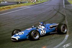 Jean-Pierre Beltoise - Matra MS7 Ford Cosworth FVA (Formula 2) - Matra Sports - VI Gran Premio de Mexico - 1967 FIA Formula 1 World Championship, round 11