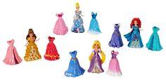 Amazon.com: Disney Princess Little Kingdom Magiclip Fashion Giftset: Toys & Games
