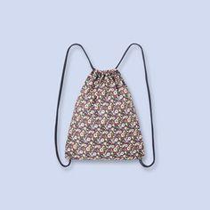 Drawstring Liberty bag MULTICOLORED Girl - Boys and girls Clothes - Jacadi Paris