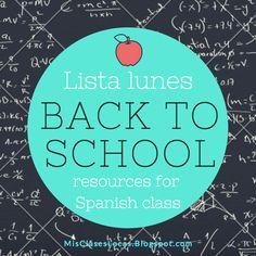Lista lunes: Back to School 2016   Mis Clases Locas