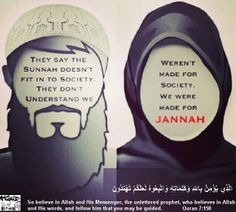 Follow #sunnah to get to #Jannah. إن شاء الله