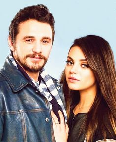 James Franco and Mila Kunis