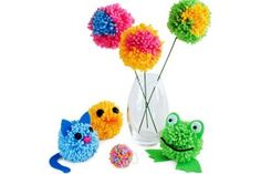 25 Pom Pom DIY Projects Home Decor, Clothes and Great FUN for the kids! - The Cottage Market