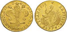 NumisBids: Nomisma Spa Auction 50, Lot 92 : FIRENZE Pietro Leopoldo (1765-1790) Ruspone 1775 – MIR 370/9...