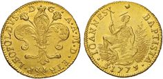 NumisBids: Nomisma Spa Auction 50, Lot 92 : FIRENZE Pietro Leopoldo (1765-1790) Ruspone 1775 – MIR 370/9...
