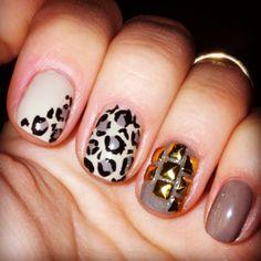 Lepard nails <3