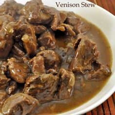 Venison Stew, Basic Brown Sauce and a primer on spices Bison Recipes, Deer Recipes, Stew Meat Recipes, Crockpot Recipes, Cooking Recipes, Game Recipes, Cooking Tips, Pork Recipes, Cooking Venison Steaks