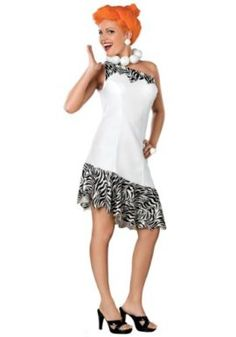 An adult deluxe Wilma Flintstone costume will give you a unique look on Halloween. Add a Fred Flintstone or Betty Rubble costume for a Flintstones couples look. See our Flintstones accessories Plus Size Halloween, Adult Halloween, Women Halloween, Family Halloween, Wilma Flintstone Halloween Costume, Flintstones Costume, Halloween Costumes For Teens, Adult Costumes, Costumes For Women