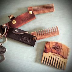 Doubling up on the Double Deuce No.22. Throw in a No.95 for good measure and your gonna have the best beard in the room ;) #bigredbeardcombs #beardcomb #pocketcomb #comb #haircomb #beardcare #mensgrooming #mensstyle #menstyle #mensfashion #edc #barber #barberlife #noshave #girlswholovebeards #gentleman #beardstildeath