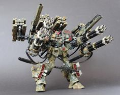 Amazing custom build of Buster Gundam. Eat your heart out Heavyarms.
