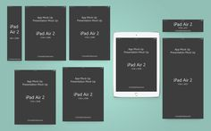 Ipad-Air-2-App-Presentation-Mock-Up by cromatixclassroom on @creativemarket