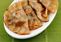 Shrimp potstickers on The Perfect Pantry.
