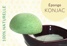 éponge Konjac : avantages et définition #epongekonjac #épongekonjac #konjac Fruit, Food, Essen, Meals, Yemek, Eten