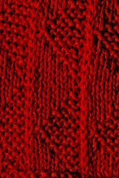 Joined-Up-Knitting: knitting stitch patterns