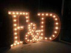 F&D MARQUEE LIGHTS