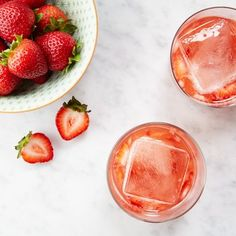 The Mose - elements of a margarita mixed with a summer rosé.