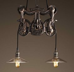 Trolley Pendant. By Restoration Hardware
