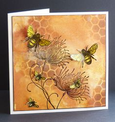 The Buzz is.... by Christine Angela - Cards and Paper Crafts at Splitcoaststampers