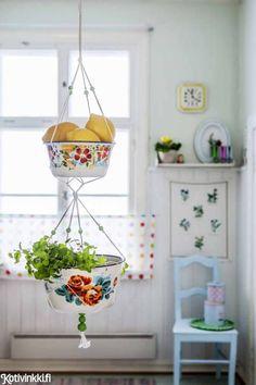 Tee itse emaliastioista koristeita   Kotivinkki
