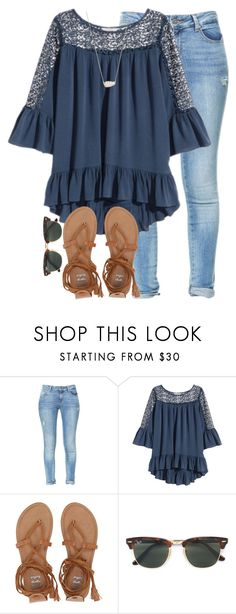 """lol"" by elizabethannee ❤ liked on Polyvore featuring Zara, Volant, Billabong, Ray-Ban and Kendra Scott"