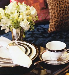 Ralph Lauren Chinoiserie Place Setting  (Retired / Vintage)  www.PacificHeightsPlace.com