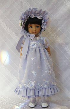 Bluebird~ Regency Era Ensemble ~ Effner Little Darling ~  Glorias Garden