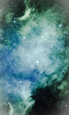 NGC 7000 - North America Nebula in Cygnus Credit: NASA/Hubble, color/effects thedemon-hauntedworld