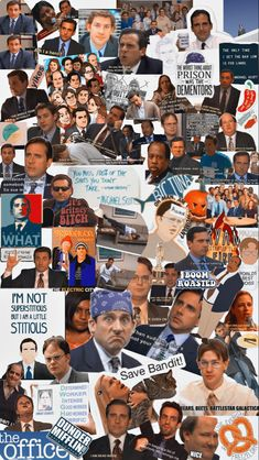 references to the best episodes of the office (i had to leave some of them out bc there wasn't enough space) 😅 hope you like it! Michael Scott, Best Of The Office, The Office Show, Office Wallpaper, Funny Iphone Wallpaper, Hipster Wallpaper, Office Artwork, Wallpaper Ideas, Wallpaper Quotes