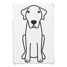 Anatolian Shepherd Dog Cartoon Cover For The iPad Mini