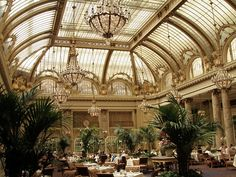 Glass Roof San Francisco's Palace Hotel.