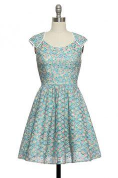 Watercolor Painting Dress | Vintage, Retro, Indie Style Dresses