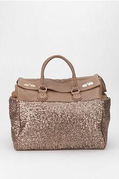 Deux Lux Sequin Weekender Bag