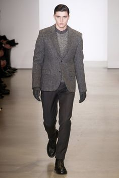 FALL 2014 MENSWEAR CALVIN KLEIN COLLECTION