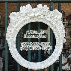 Moldura 32 cm. ArtCunha Decorações (21) 2445-1929 / 98558-3595 Est. Bandeirantes, 829, Taquara, Rio de Janeiro, RJ  #moldura #molduras #decoração #decoracao #decorando #decorar #artesanato #gesso #jacarepaguá #jacarepagua #barradatijuca #recreiodosbandeirantes #blogdecor #rioguiaoficial #achados #rioetc #021rio #bomdia #boatarde #boanoite #parede #quarto #corredor #tijuca #niterói #niteroi #arquitetura #novidades #artes #espelho