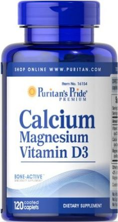 Amazon.com: Calcium Magnesium with D 120 Tablets: Health & Personal Care