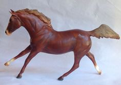 Breyer TEST Black Beauty shaded Chestnut from Black Horse Ranch