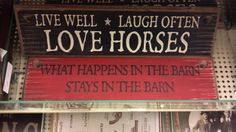 this is for my mom's barn :} luv it found at hobby lobby