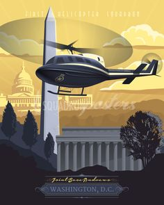 Share Squadron Posters for a 10% off coupon! Andrews UH-1 Huey - 1st Helicopter Squadron #http://www.pinterest.com/squadronposters/