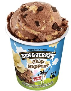 Peanut Butter Cups, Ice Cream Flavors List, Ben Und Jerrys, Junk Food Snacks, Chocolate Ice Cream, Ben And Jerrys Ice Cream, Vanilla Flavoring, Potato Chips, Aesthetic Food