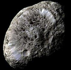 Saturn's Moon Hyperion.