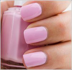 Baby pink essie nail polish