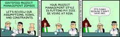 Dilbert on project management certification (2 of 3)