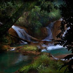 Cascadas de Agua Azul.   Flickr: Intercambio de fotos