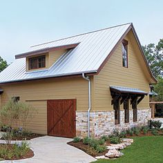 Find a Charming Garage Door | Right on Track | SouthernLiving.com