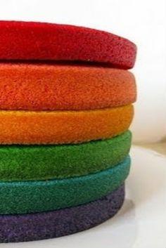 Cómo hacer bizcochos de colores: Hoy Loli te mostrará cómo hacer cómo hacer bizcochos de colores solo tienes que...