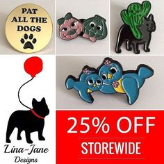 #Repost @linajanedesigns  25% off everything SALE!! When using the code: BeQuick17 at the checkout!!! Ends 12am Jan 25th Australian EST. $3 Aus postage & $5 International postage (on pins only)!!! Link in bio happy shopping   http://ift.tt/2kc3QIN  #linajanedesigns #accessories #sale #flashsale #pinsale #enamelpinsale #onlineshop #kitsch #kitschstyle #kawaii #kawaiistyle #dog #dogs #dogsofinsta #dogsofinstagram #birds #clams #cactus #pin #pins #pingame #pingamestrong #pincommunity…