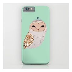 Barn Owl  iPhone 6s Case (€32) ❤ liked on Polyvore featuring accessories, tech accessories and iphone & ipod cases